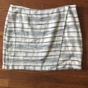 Gap textured mini skirt